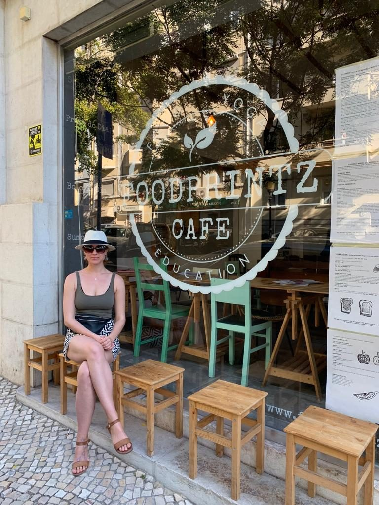Foodprintz Vegan Cafe Lisbon