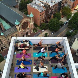 Rooftop Yoga - Northern Yogi